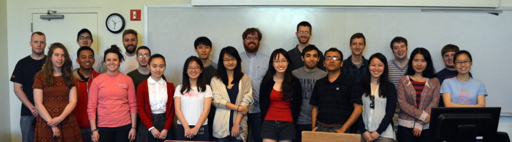 Spring 2014 class of UP 418 (GIS for Planners)